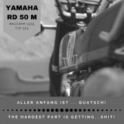 Yamaha RD 50 M, Baujahr 1979