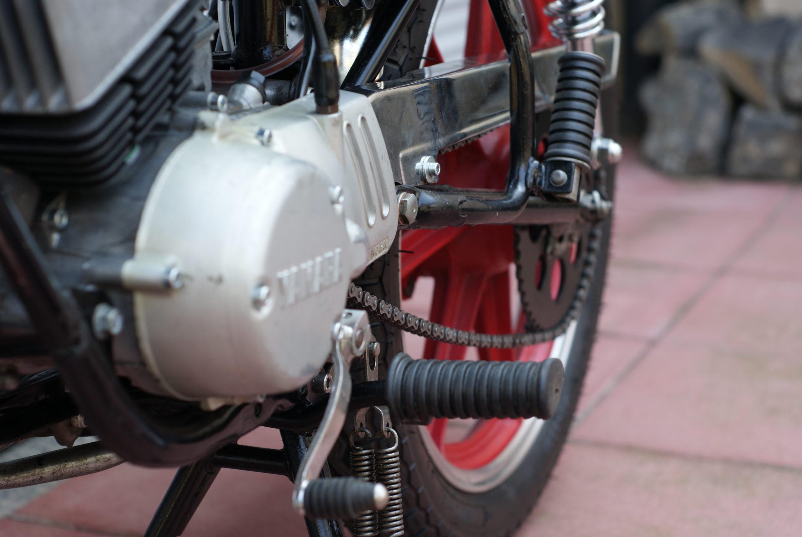 Motor einer RD 50